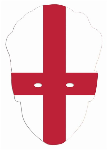 England Flag World Cup Party Face Mask
