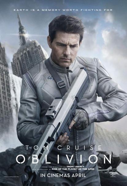 Oblivion Style B Poster