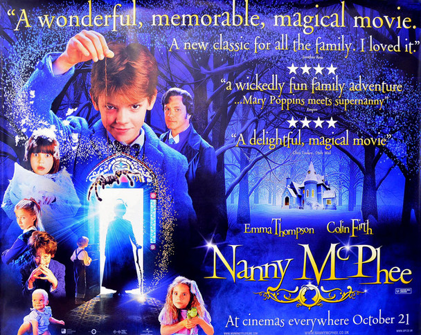Nanny McPhee UK Quad Poster (Double Sided)