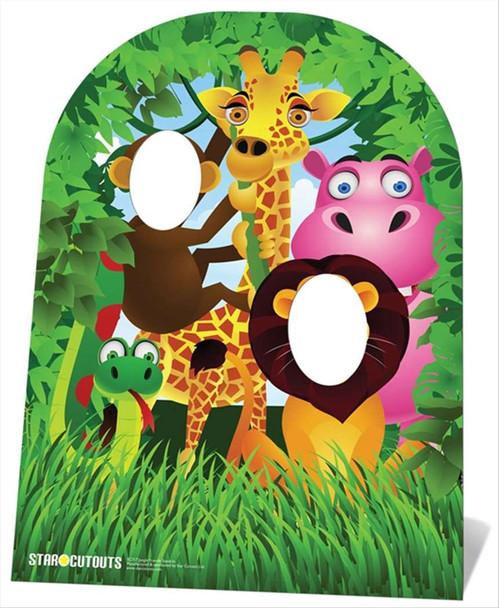 Jungle Stand In Child Size Cardboard Cutout