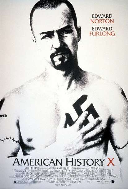 American History X Original Movie Poster One Sheet