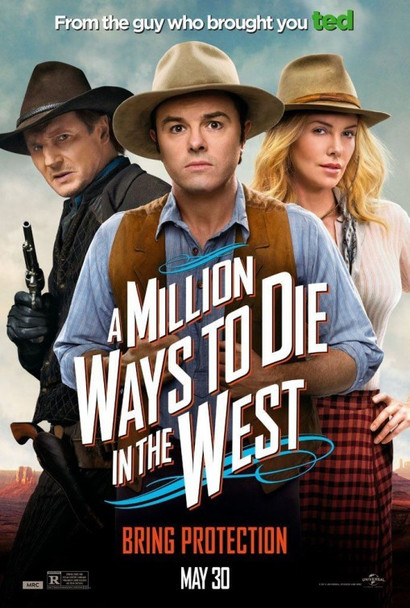 A Million Ways To Die In The West Original Movie Poster