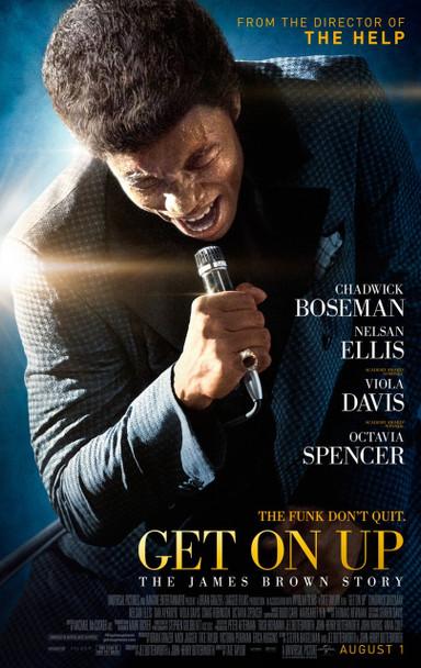 Get On Up Original Movie Poster