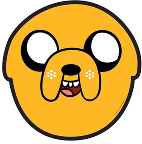 Jake Adventure Time Party Face Mask (Single)