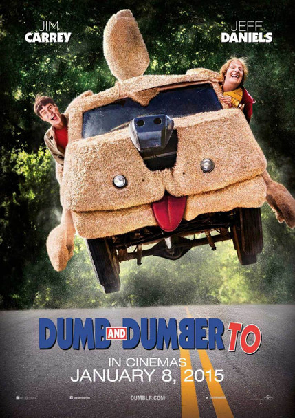 Dumb And Dumber To Original Movie Poster