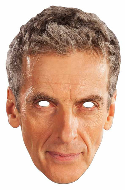 Peter Capaldi Face Mask (12th Doctor Who)