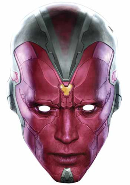 Vision Avengers Age of Ultron Single Card Mask