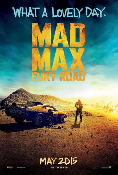 Mad Max Fury Road Original Movie Poster
