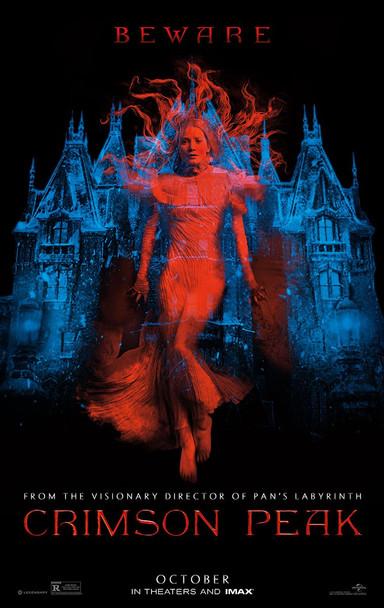 Crimson Peak Original Movie Poster