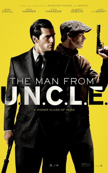 The Man From U.N.C.L.E Original Movie Poster