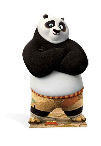 Po Ping from Kung Fu Panda Cardboard Cutout