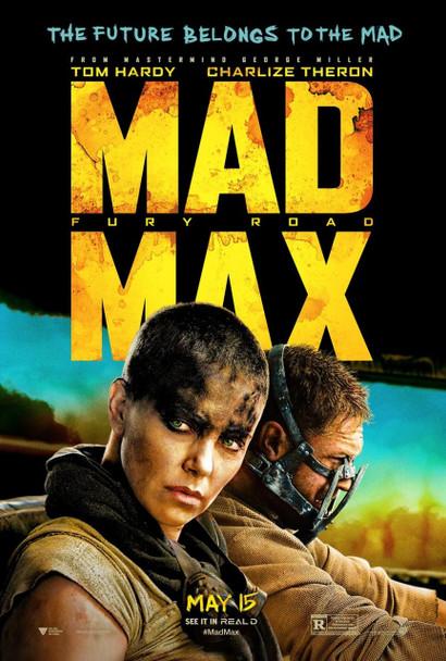 Mad Max Fury Road Original Movie Poster Style B