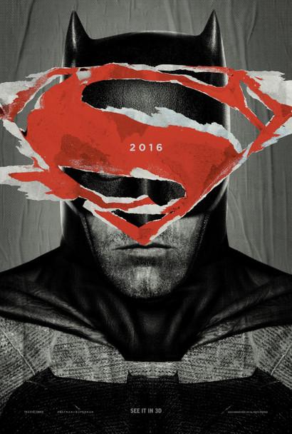 Batman V Superman Dawn Of Justice Original Movie Poster Style A