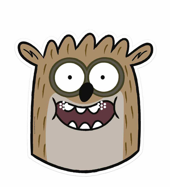 Rigby Regular Show Card Face Mask Single