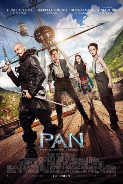 Pan Original Movie Poster Regular