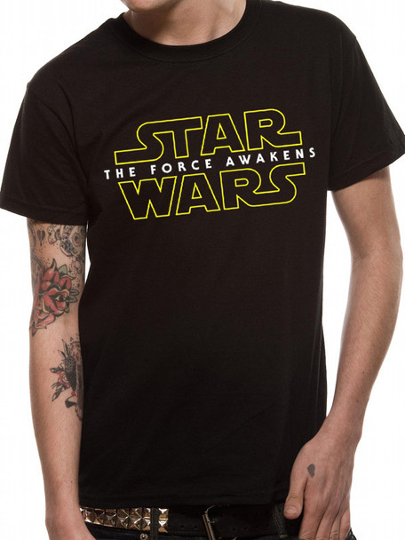 Star Wars: The Force Awakens Classic Logo Official Unisex T-Shirt
