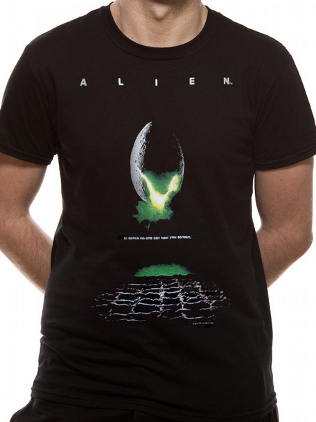 Alien Classic Poster Style Official Unisex T-Shirt