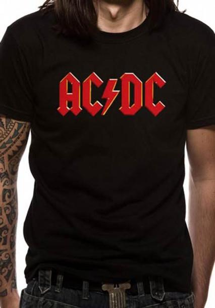 AC/DC Red Logo Official Unisex T-Shirt
