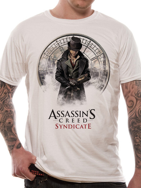 Assassin's Creed Syndicate Jacob Frye Big Ben Clock Face Style Official Unisex T-Shirt