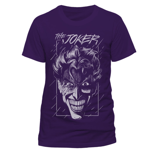 The Joker Purple Batman DC Comics Official Unisex T-Shirt