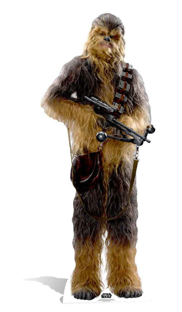Chewbacca Star Wars: The Force Awakens Lifesize Cardboard Cutout