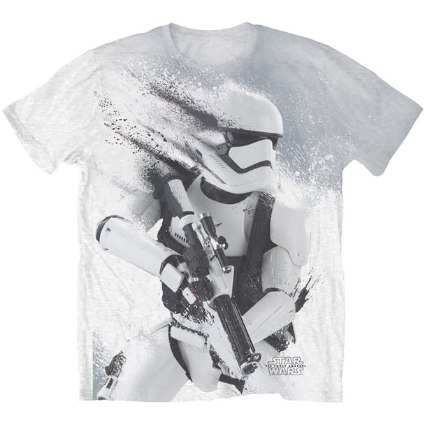 First Order Stormtrooper Sublimation Force Awakens Official Star Wars Unisex T-Shirt