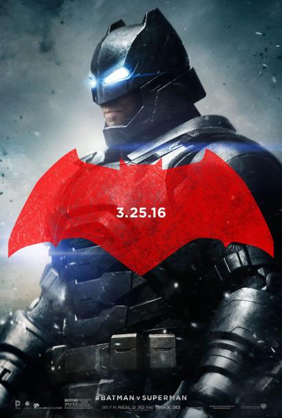 Batman V Superman Dawn Of Justice Original Movie Poster - Style C Batman Mech Suit