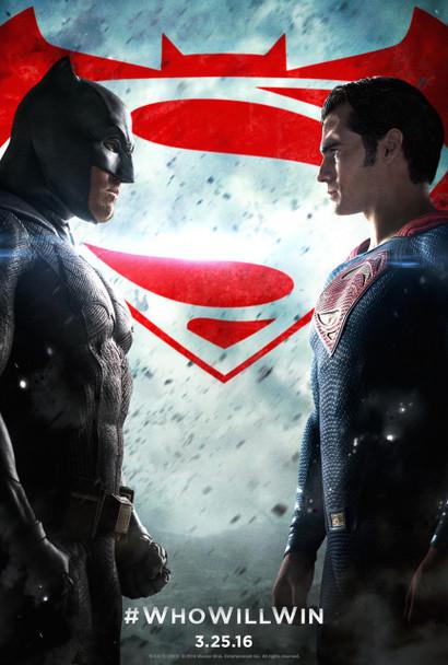 Batman V Superman Dawn Of Justice Original Movie Poster - Regular Style