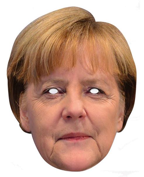 Angela Merkel German Chancellor Card Party Face Mask