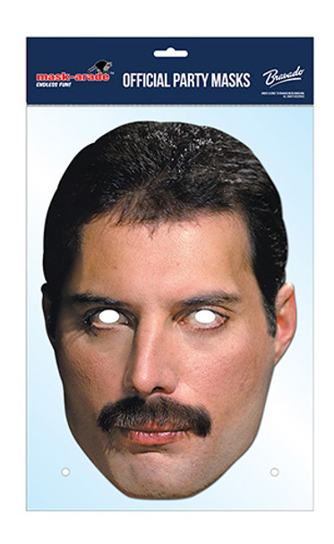 Freddie Mercury Official Queen Card Party Face Mask
