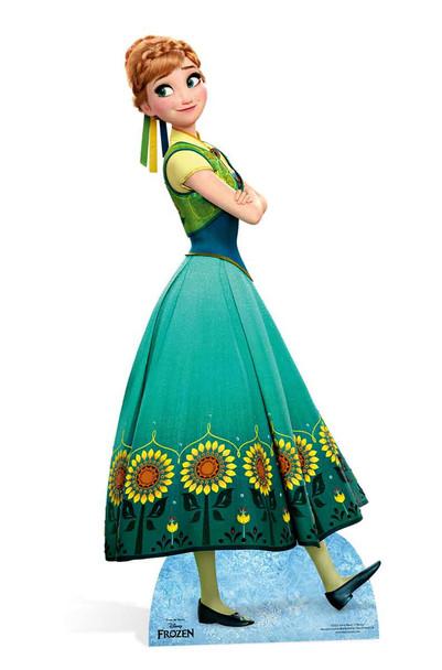 Anna from Frozen Fever Cardboard Cutout