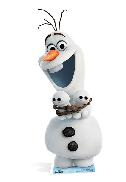 Olaf from Frozen Fever Cardboard Cutout