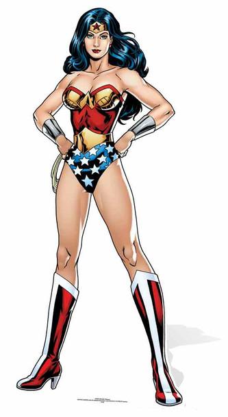 Wonder Woman DC Comics Cardboard Cutout