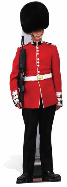 The Queen's Guard Royal Family Guardsman Lifesize Cardboard Cutout