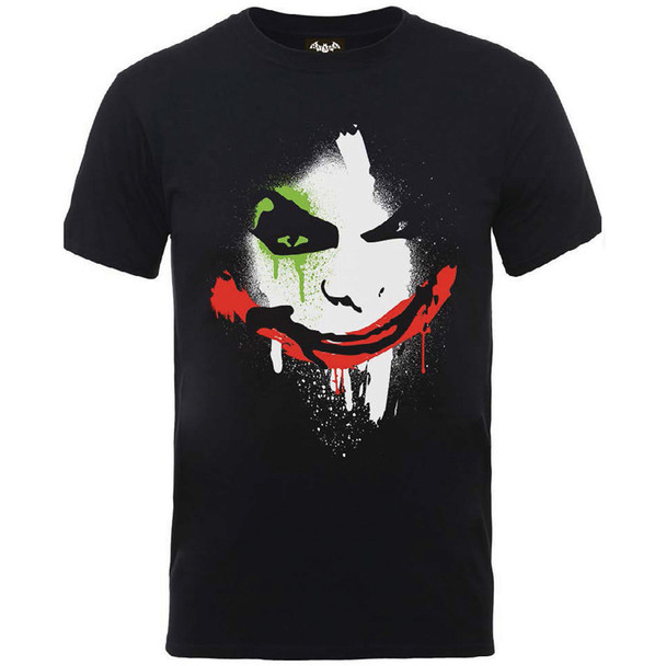 Batman Arkham City Halloween Joker Face T-Shirt