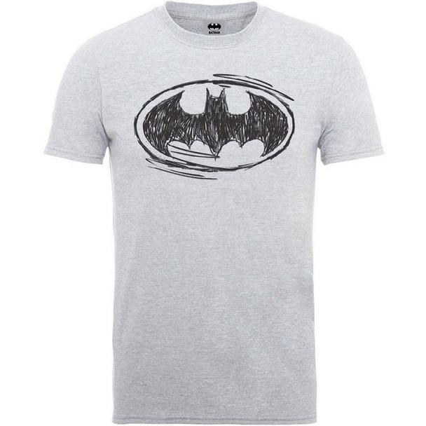Batman Sketch Logo T-Shirt