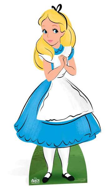 Alice from Alice In Wonderland Disney Lifesize Cardboard Cutout