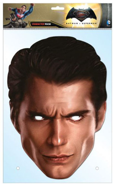 Superman Dawn of Justice Henry Cavill Card Face Mask