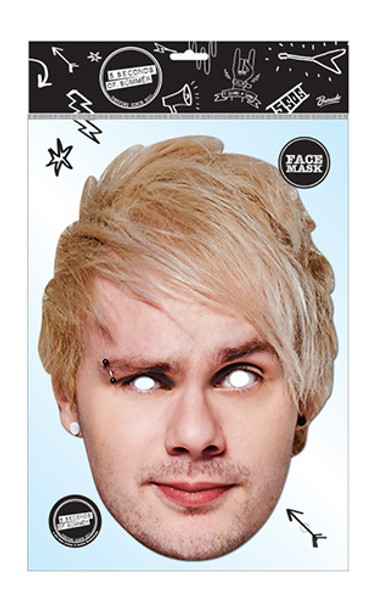Michael Clifford 5 Seconds of Summer Card Party Face Mask