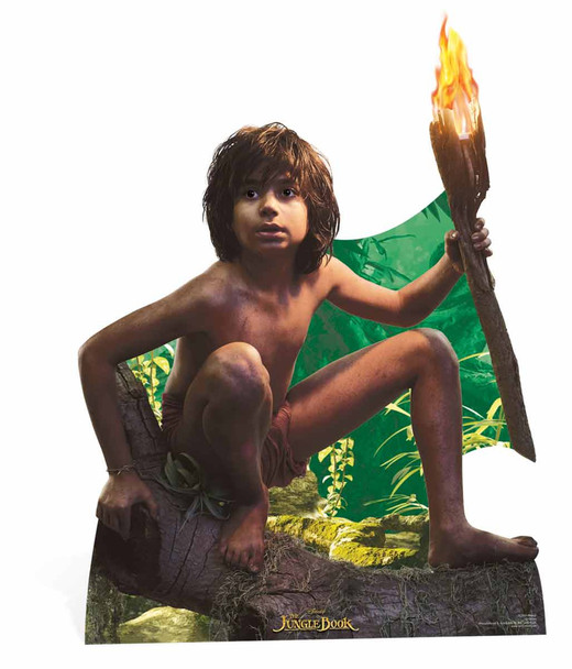 Mowgli from Disney's The Jungle Book Lifesize Cardboard Cutout