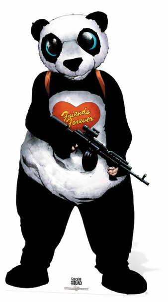 Panda Man Suicide Squad Lifesize Cardboard Cutout
