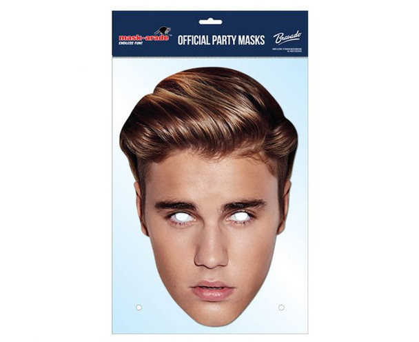 Justin Bieber 2016  Card Party Face Mask