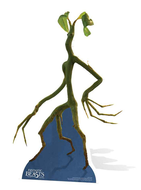 Pickett the Bowtruckle Cardboard Cutout