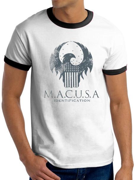 Fantastic Beasts M.A.C.U.S.A logo Unisex T-Shirt