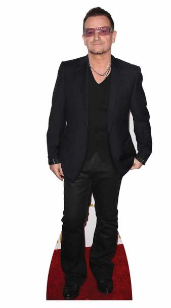Bono from U2 Cardboard Cutout