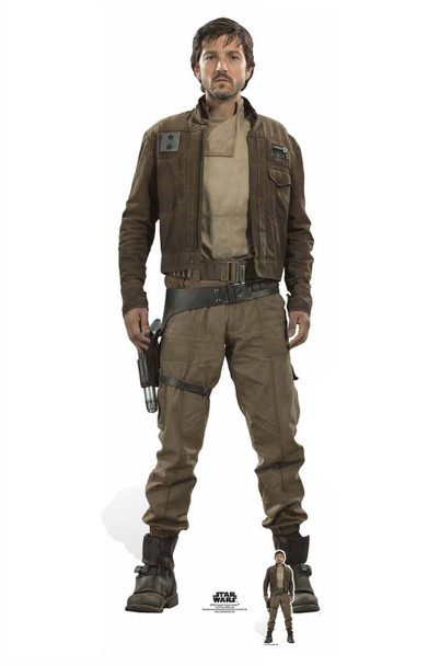 Captain Cassian Andor Cardboard Cutout