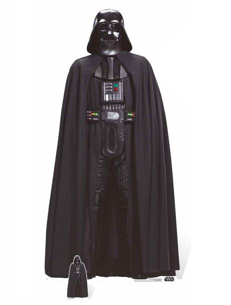 Darth Vader Rogue One Lifesize and Mini Cardboard Cutout
