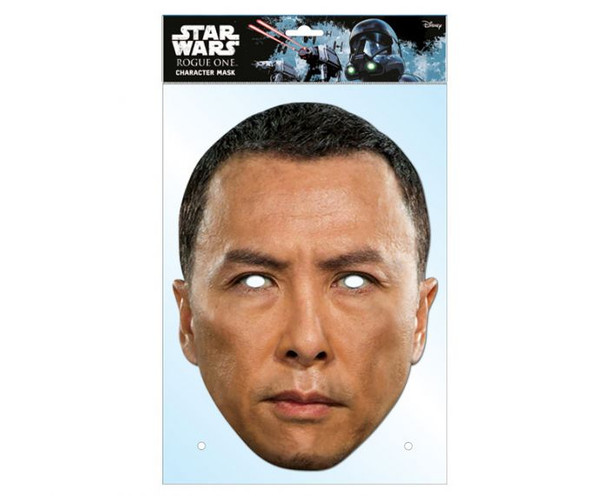 Chirrut Imwe Rogue One Card Party Face Mask