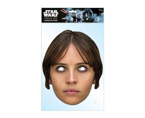 Jyn Erso Rogue One Single 2D Card Party Face Mask