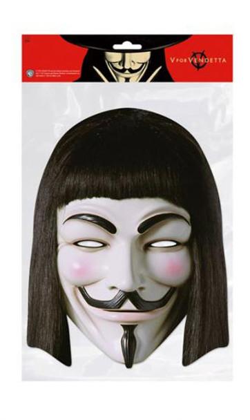 V For Vendetta Party Face Mask